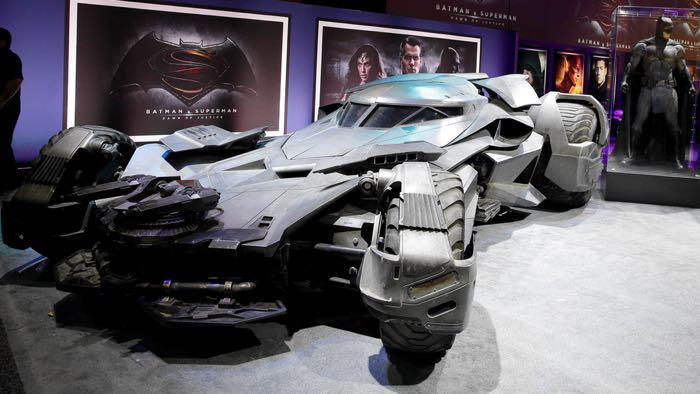 Batman vs Superman Batmobile Unveiled