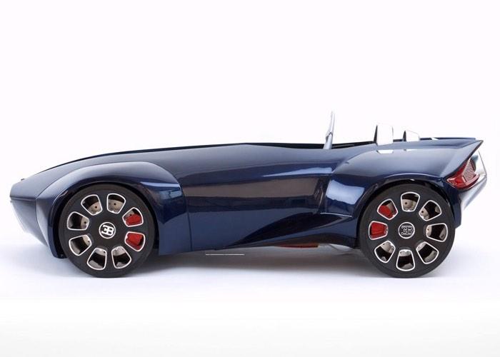 3D Printed Bugatti Concept Car
