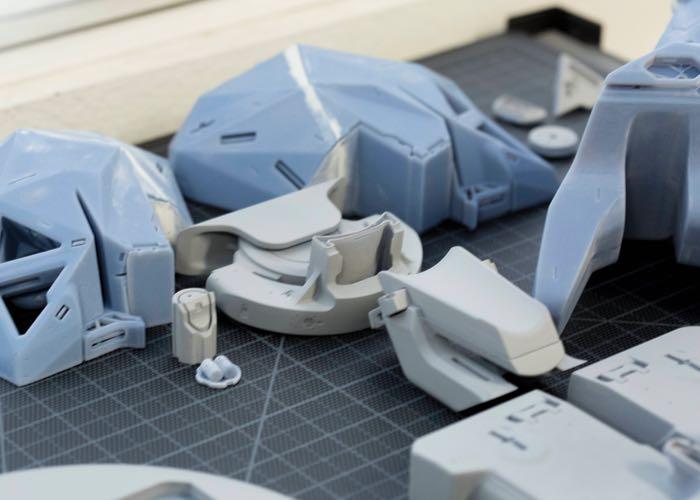 3D Printed Cyborg Head