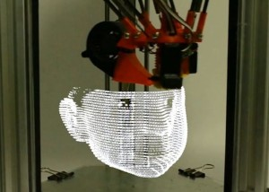 3D Printer Uses Light To Create Objects (video)
