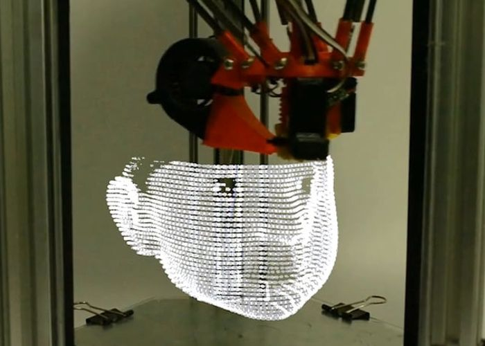 3D Printer Uses Light To Create Objects