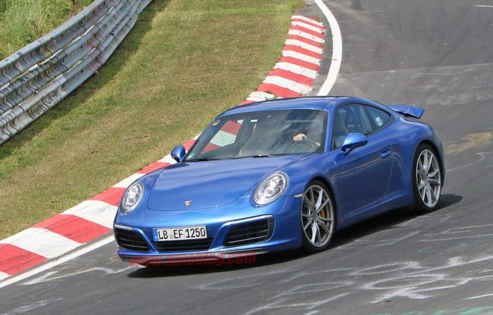 New Porsche 911 GT Spotted At The Nurburgring