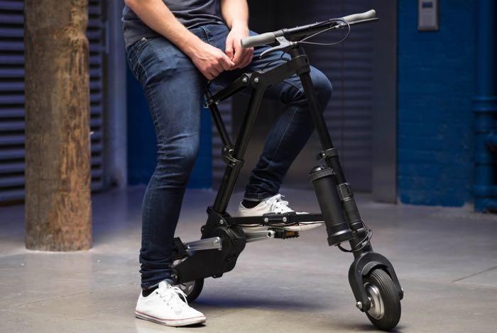 A-Bike Electric Folding Bike Hits Kickstarter From £449 (video)