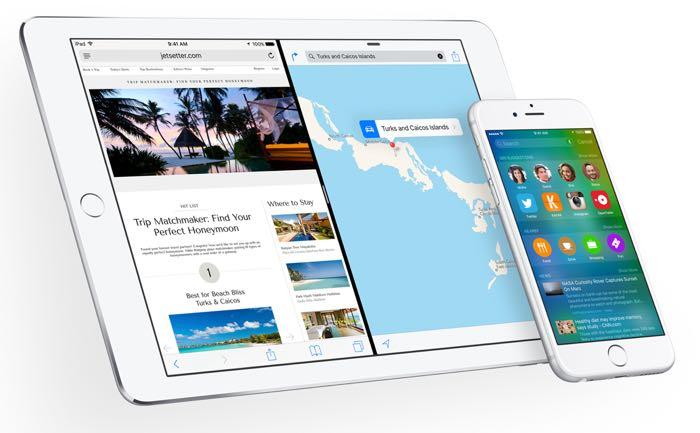 苹果向开发商提供iOS 9测试版3