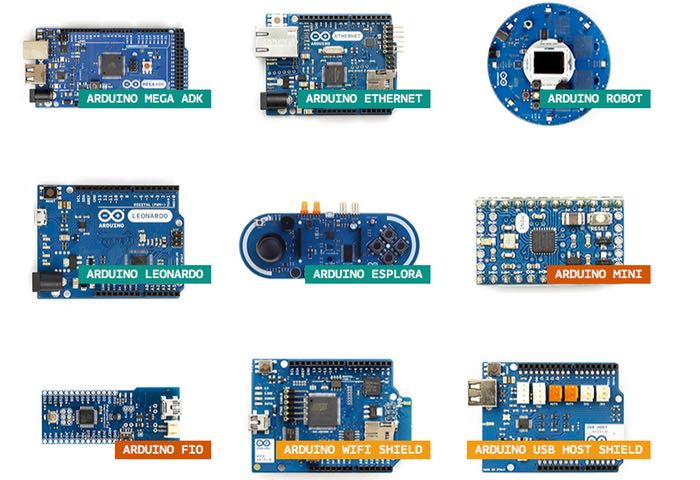 New Arduino Product Selection Page Created