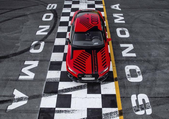 Audi Self Driving RS 7