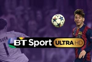 BT Sport 4K Ultra HD Channel