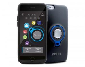 CLIKI Removable Remote Button Smartphone Case