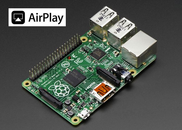Raspberry Pi DIY AirPlay Speaker System Built For $45 (video)