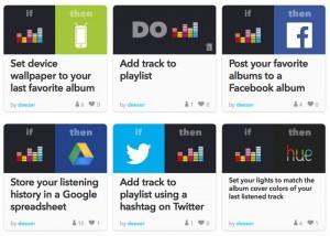 Deezer Music Service Now Supports IFTTT Actions