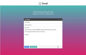 Dmail Service Lets You Delete Gmail Messages After They Have Been Sent