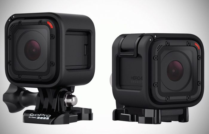 GoPro Hero4 Session Action Camera Unveiled
