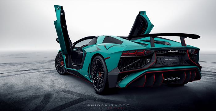 Lamborghini Aventador SuperVeloce Roadster Unveiled