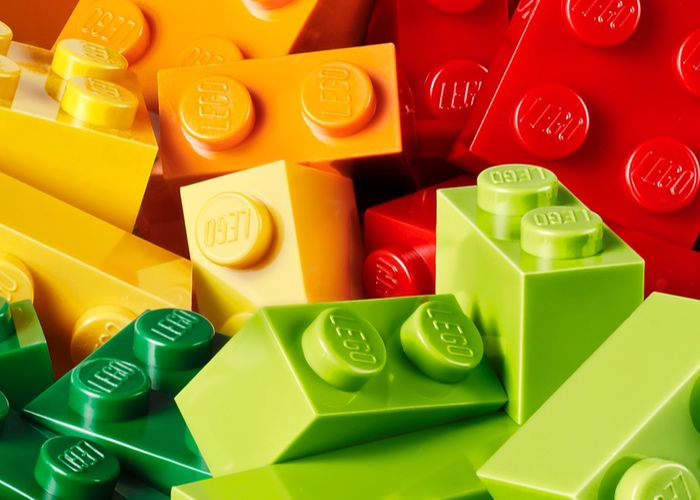 eco-friendly Lego bricks