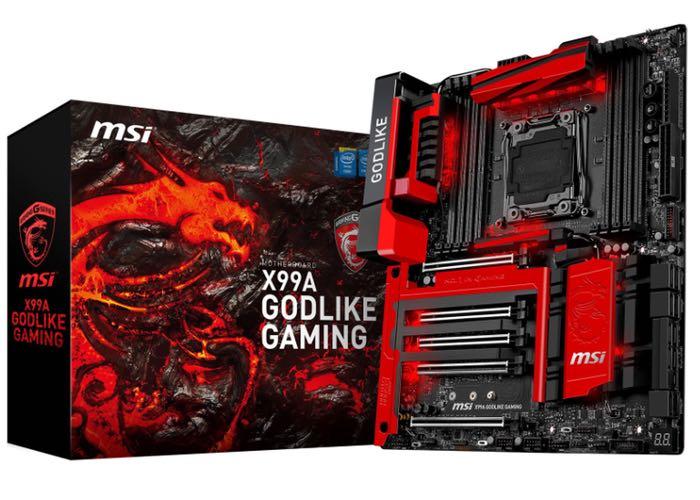 MSI X99A GODLIKE Motherboard