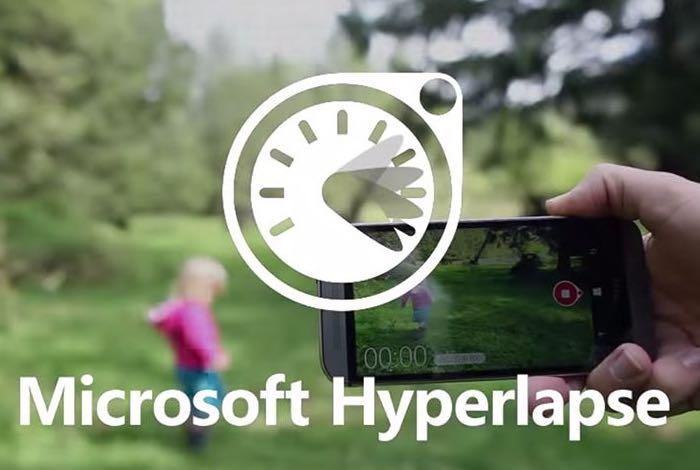 Microsoft Hyperlapse