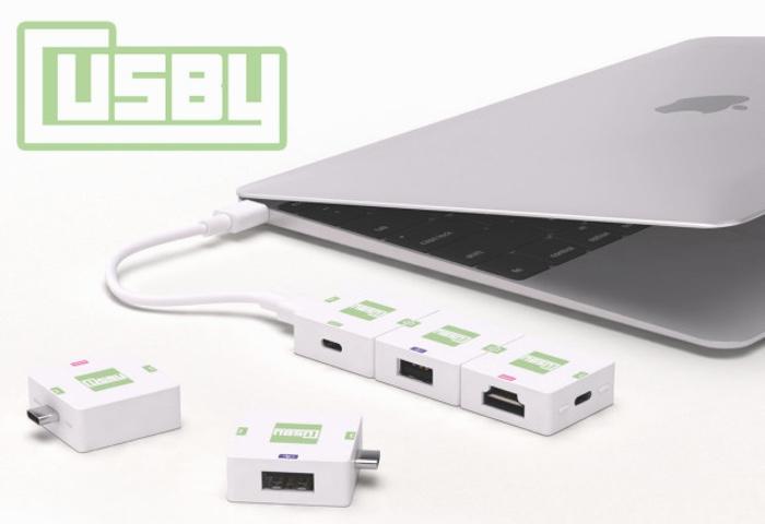 Modular USB-C Hub