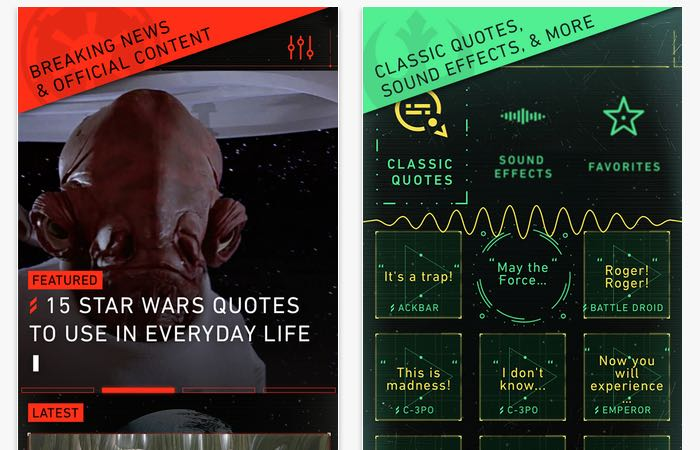 Official Star Wars App