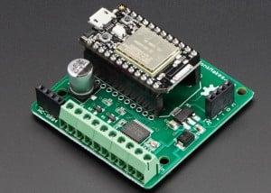 PhoBot Robotics Shield For Photon Makes Controlling Small Robots A Breeze