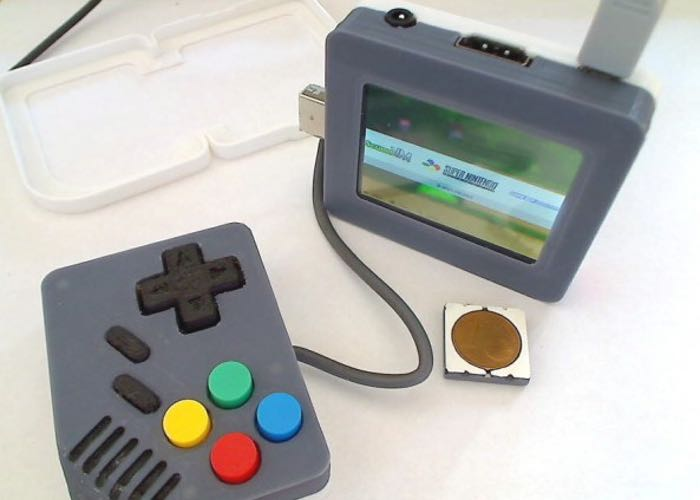 Pi-Boy Classic 3D Printed Handheld Games Console