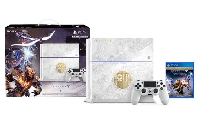 PlayStation 4 Destiny The Taken King Limited Edition Bundle Unveiled