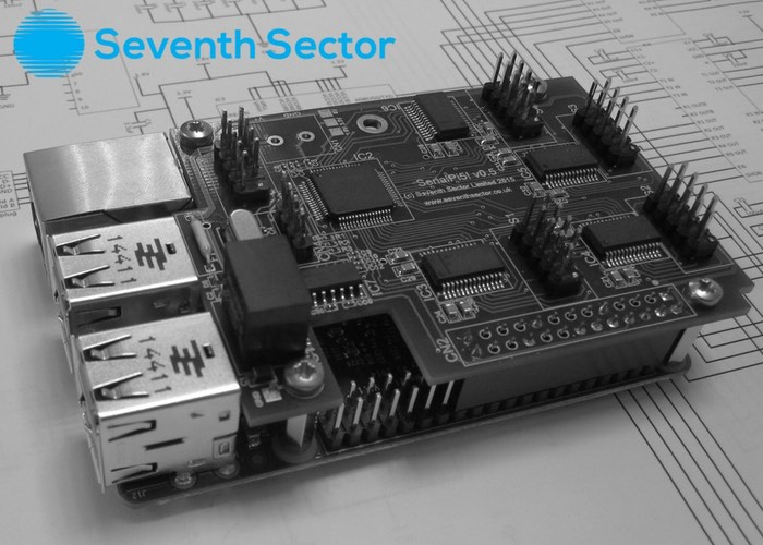 Raspberry Pi SerialPi5 Board