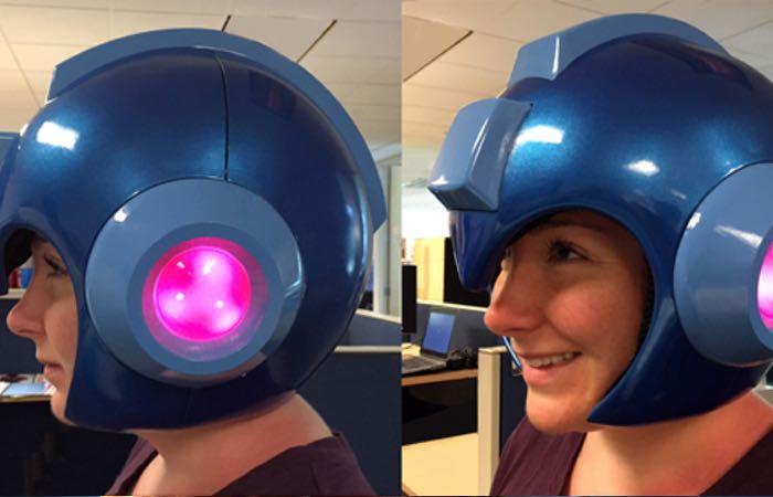 Wearable Mega Man Helmets