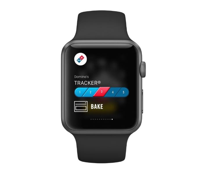 dominos apple watch