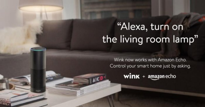 Amazon Echo Can Control Your Lights Now With Wink