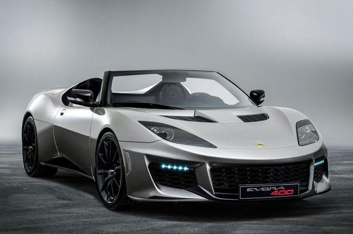 Lotus Evora 400 Convertible