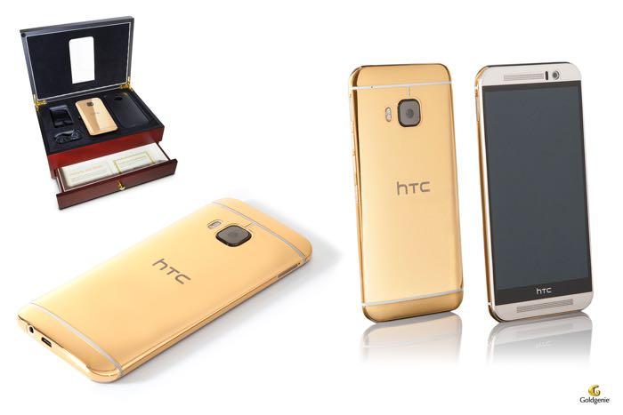 24K金HTC One M9售价1500英镑