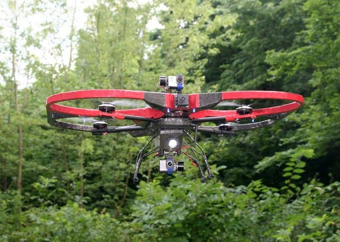 Heavy Lifting Quadcopters