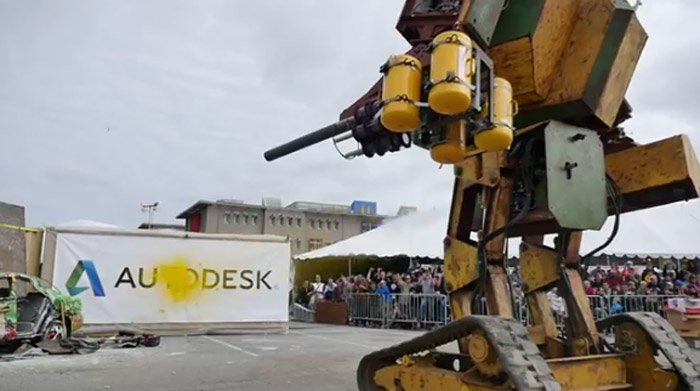 Megabots Mk Ii Robot Looks Right Out Of Mechwarrior