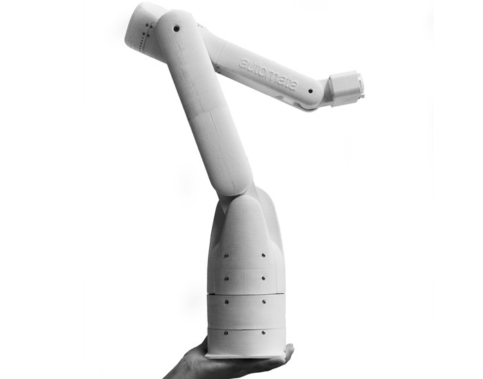 Automata Eva 3D Printed Robotic Arm Unveiled (video)