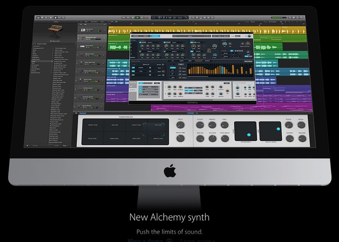 Apple Logic Pro X 10.2 Update Rolls Out Adding Alchemy Synth And More