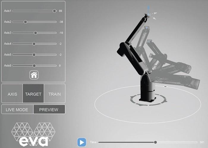 Automata Eva 3D Printed Robotic Arm