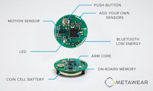 MetaWear Tiny Programmable BLE Sensors (video)