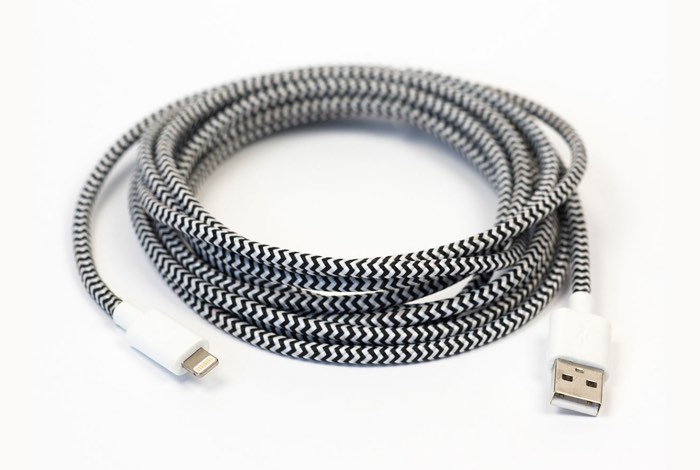 Braided 10-Foot MFi-Certified Lightning Cable