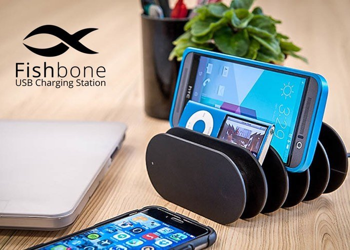 Fishbone Charging Station Anyone That Owns Multiple Mobile Devices
