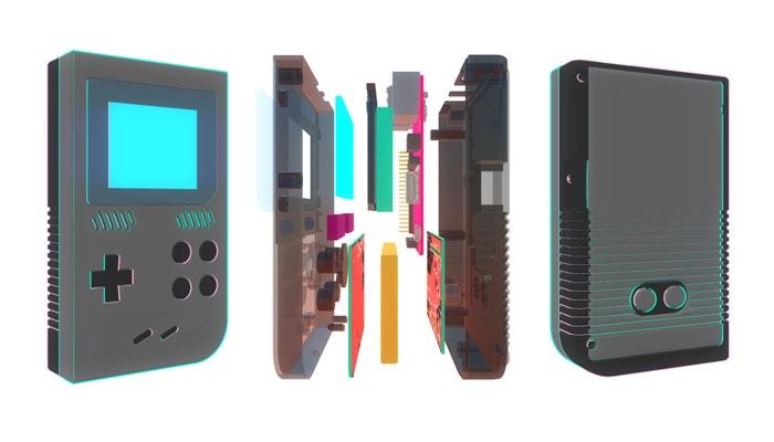 GameKid Raspberry Pi Powered Handheld