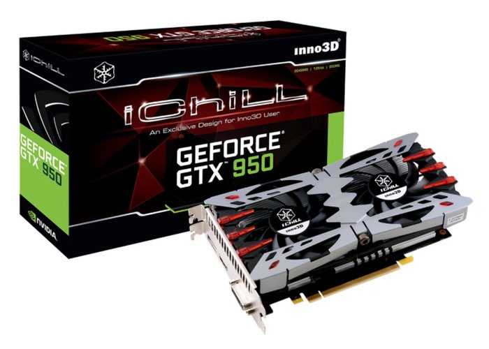 Overclocked Inno3D iChill GeForce GTX 950 Graphics Card Introduced