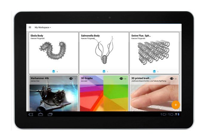 Ideas Worth Making 3D Printing Android App