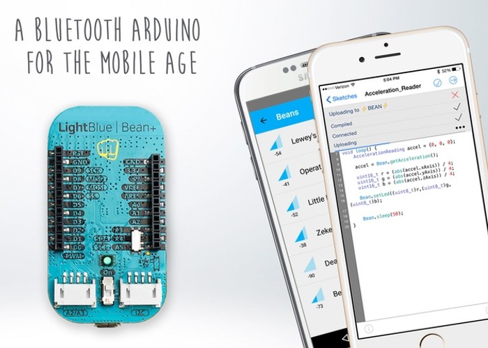 LightBlue Bean Mini Bluetooth Arduino Board