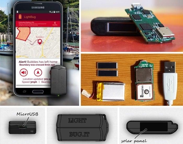 LightBug Solar Powered GPS Tracker