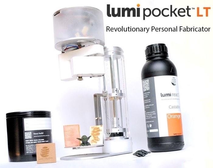 LumiPocket LT Personal Fabricator