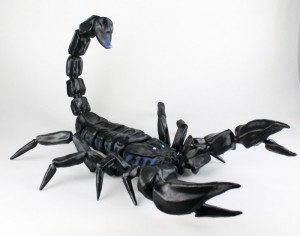 Massive 3D Printed Scorpion Has 53 Articulated Parts