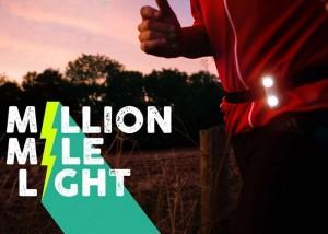 Million Mile Light - Motion Powered Runners Safety Light
