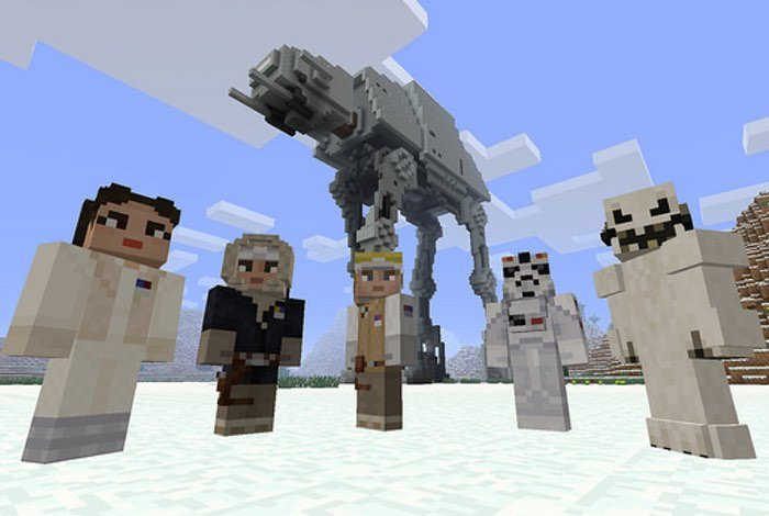 Minecraft Star Wars Skins Arrive On PlayStation
