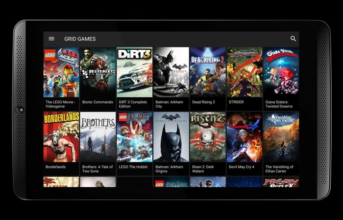 Nvidia Grid Game Streaming Service