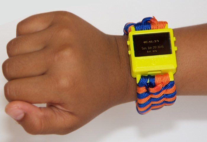 O Watch 3D Printable Smartwatch For Kids (video)